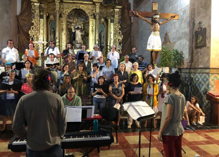 Cor Ciutat Eivissa gravant CD