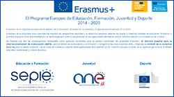 Web Erasmus+
