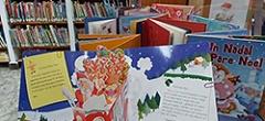 Exposició de contes i personatges de Nadal i fred
